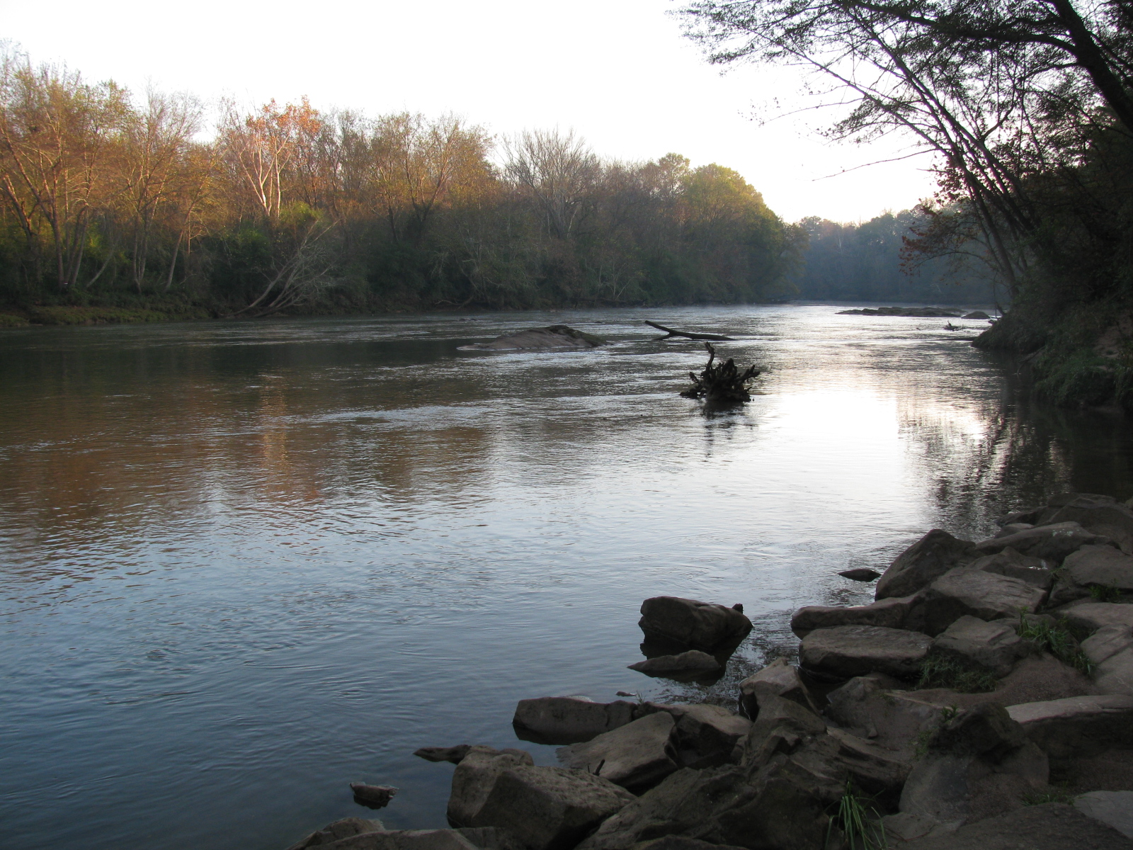 Chattahoochee river fishing report april 2011 for Chattahoochee river fishing