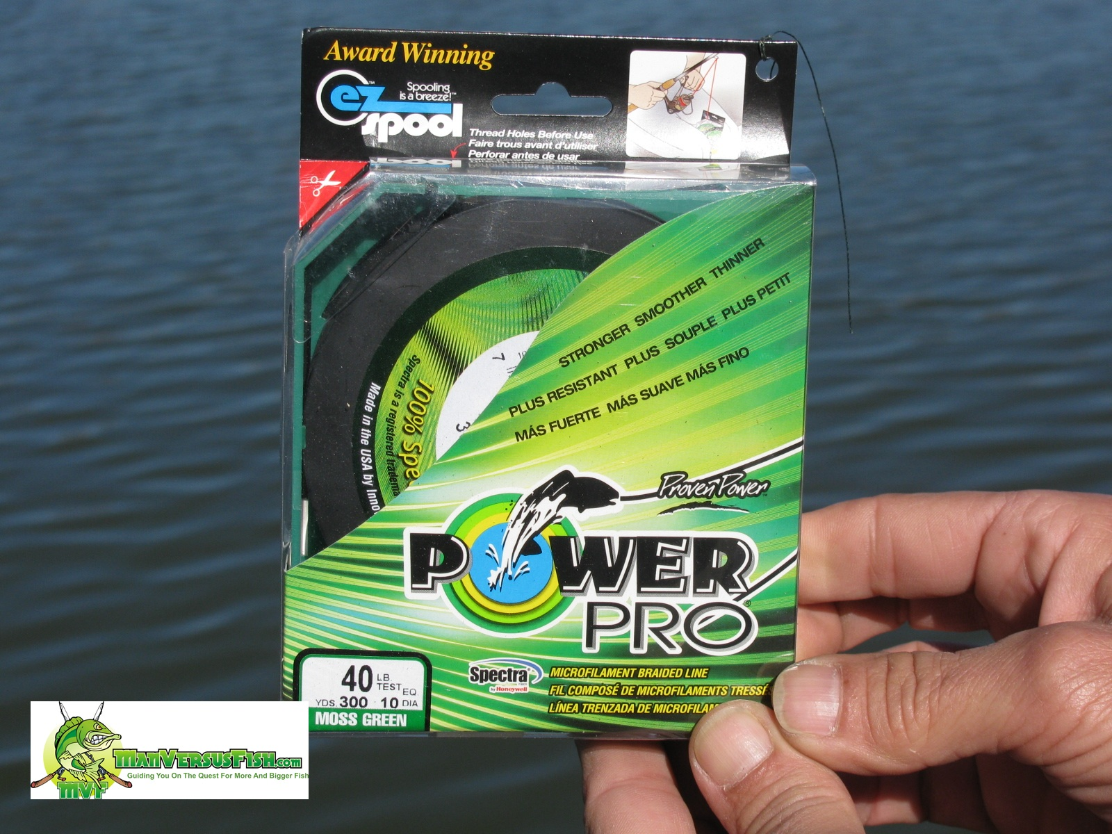 Power pro braided line for Braided fishing line vs monofilament